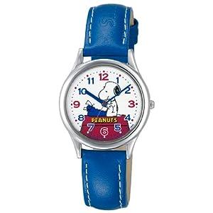 [シチズン キューアンドキュー]CITIZEN Q&Q 腕時計 PEANUTS(ピーナッツ) スヌーピー キャラクターウォッチ アナログ表示