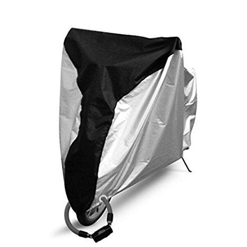 Ohuhu 自転車カバー 190T 破れにくい 防水 撥水加工UVカット 風飛び防止 29インチまで対応 収納袋付き