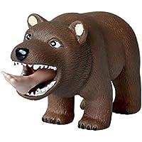 Posmant おもちゃ ストレス リリーフ 解消 玩具 面白い かわいい  熊 ストレスボール クリーム ソフト プラスチック スクイズ  12.5x4.5x6.5cm