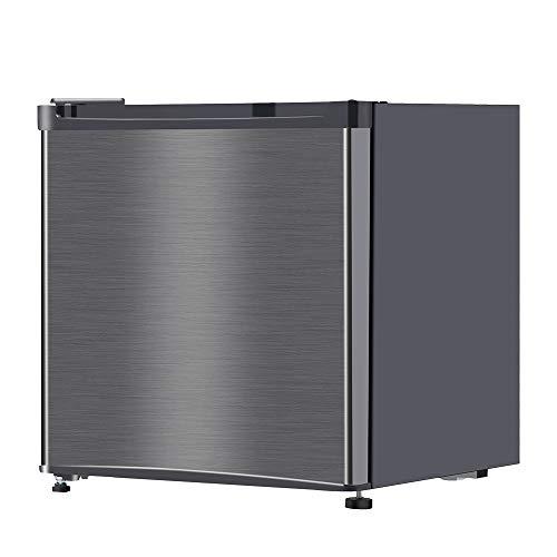 maxzen 小型 一人暮らし 冷蔵庫 46L 1ドアミニ冷蔵庫 右開き コンパクト ガンメタリック JR046ML01GM