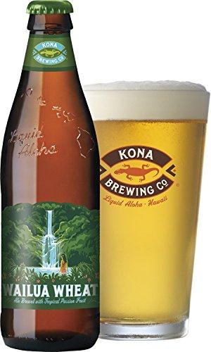 さわやかなパッションフルーツのホワイトビール ワイルア・ウィート 355mlボトル×1ケース(24本)
