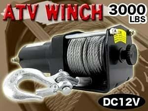 電動ウィンチ/DC12V/1361Kg/3000LBS/SL3000-1