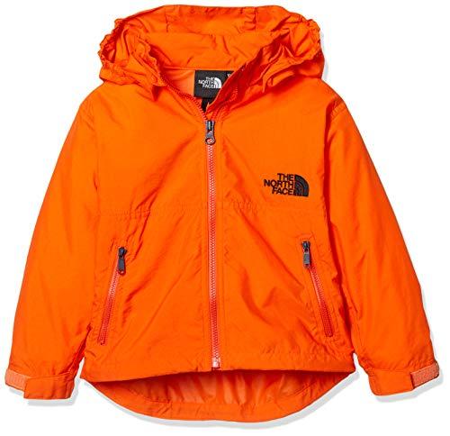 [ザ・ノース・フェイス] ジャケット コンパクトジャケット キッズ NPJ21810 ペルシャオレンジ 日本 110 (日本サイズ110 相当)