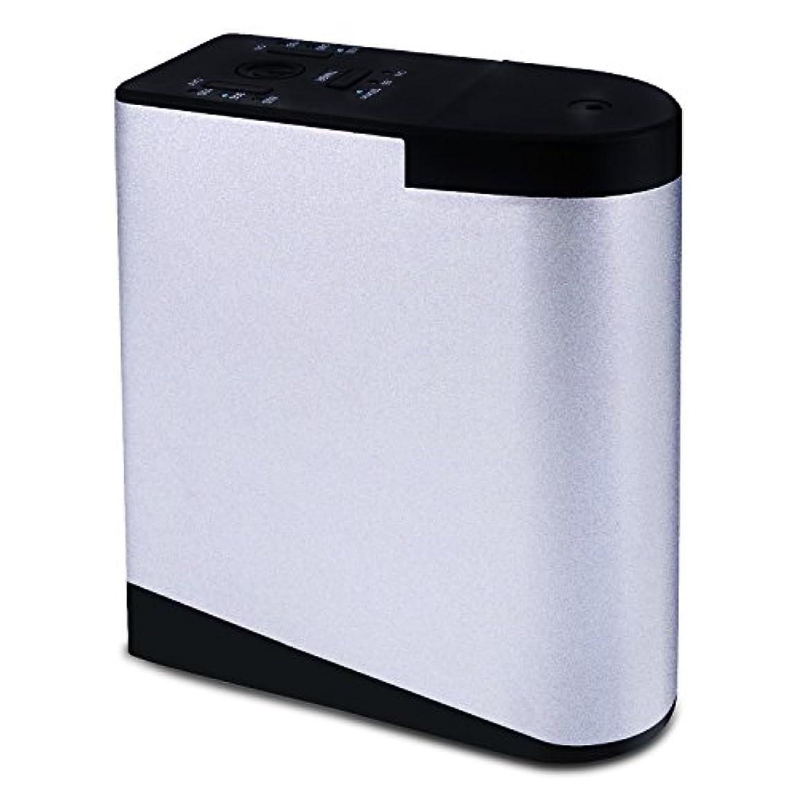 温度計重要ホラーENERG e's Memory アロマディフューザー メモリー・タイマー機能 ネブライザー式 精油瓶2個スポイト付き T11-EN098