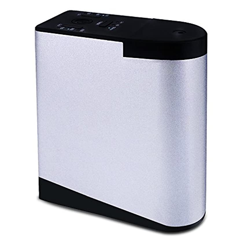 ヘビー喜び値するENERG e's Memory アロマディフューザー メモリー・タイマー機能 ネブライザー式 精油瓶2個スポイト付き T11-EN098