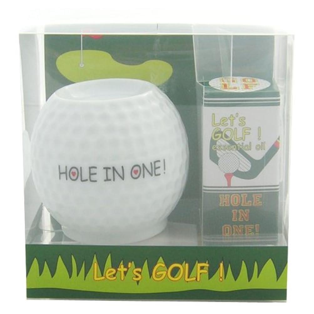 アジアレオナルドダ素晴らしいですフリート レッツ ゴルフ! アロマライトセット ホールインワン! 4ml