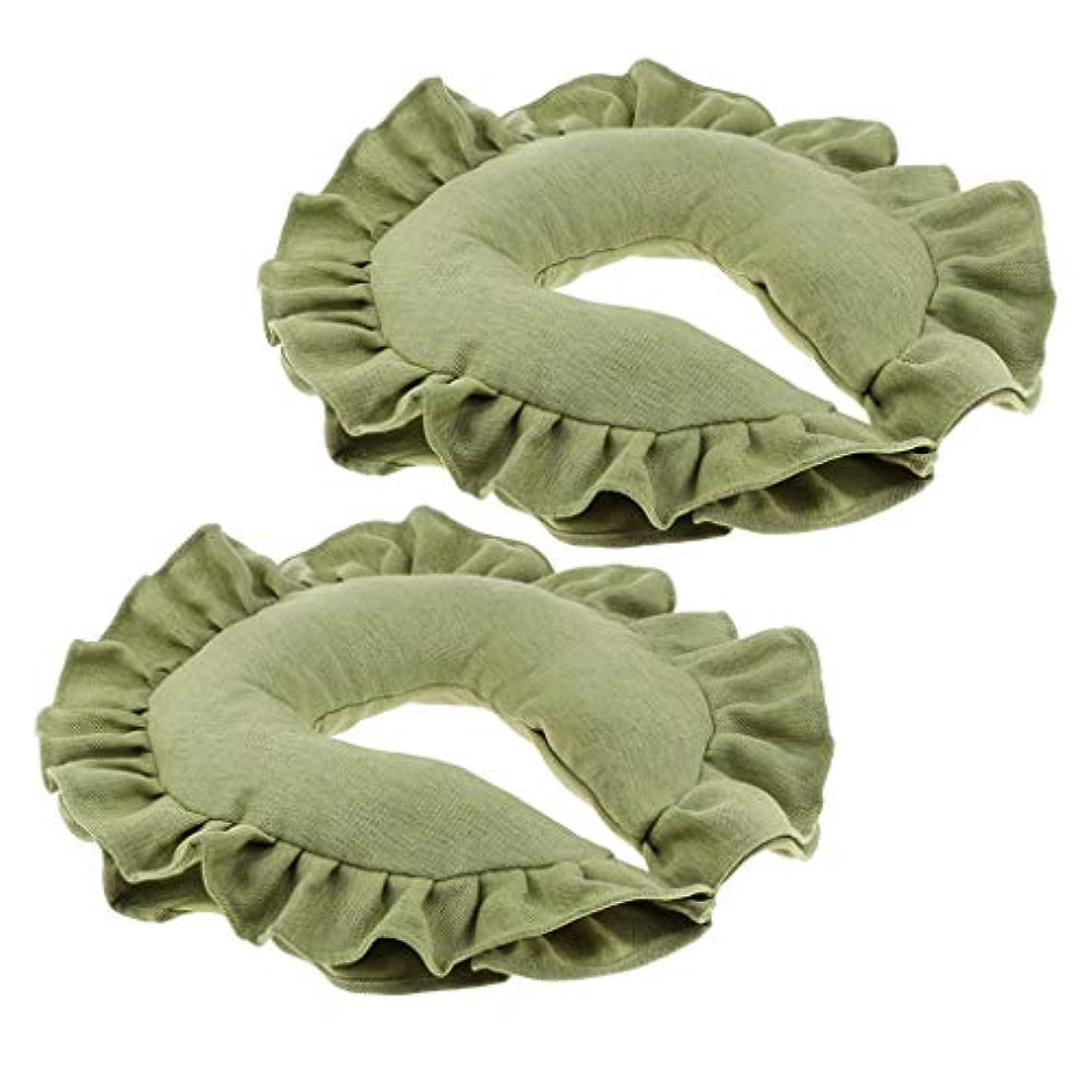 ニックネーム祝福する韓国語chiwanji フェイスマット マッサージ枕 顔枕 整体枕 ネックピロー マクラ 枕 マッサージ 整体 男女兼用 2個入り