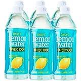 Lotte Daily-C Lemon Water - Pack (6 x 500ml)