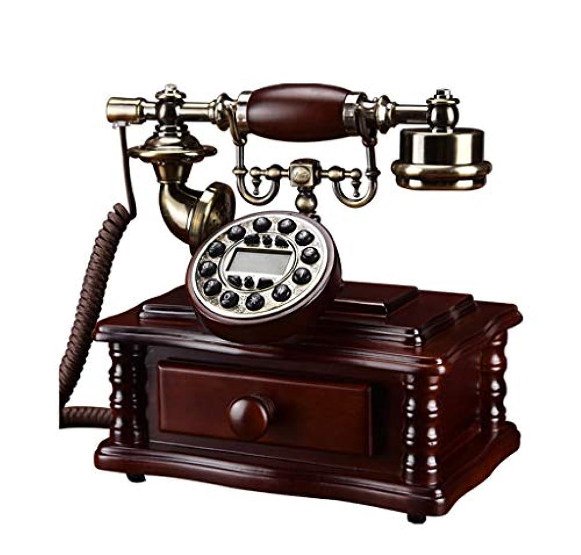 フックビジュアル軽蔑する電話装飾オフィスホーム ヨーロッパの電話、リビングルーム、寝室、オフィス、レトロ、無垢材、有線、電話 ビンテージアンティーク電話 (Edition : C)