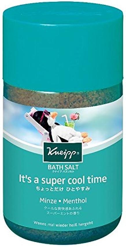 促す妖精参照クナイプ バスソルト スーパーミントの香り 850g