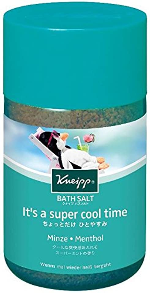 葉っぱトランスミッション硬化するクナイプ バスソルト スーパーミントの香り 850g