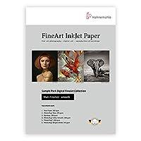 Hahnemuhle Matte Fine Art Smooth Archival Inkjet Paper Sample Pack, 22cm x 28cm, 14 Sheets