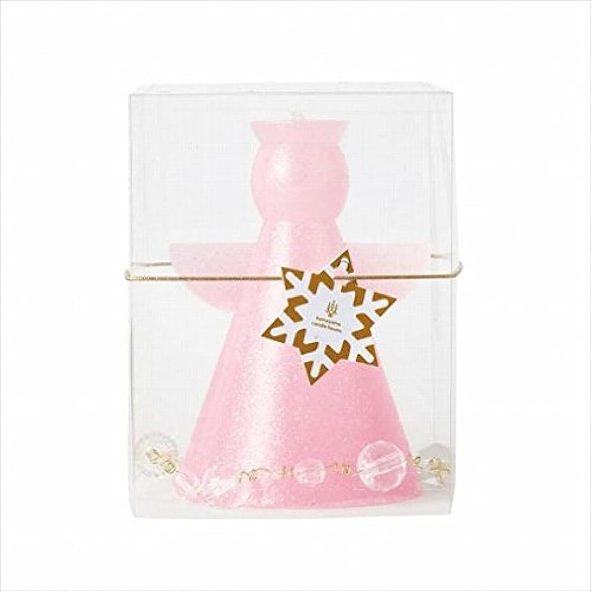 パワー不名誉平日カメヤマキャンドル(kameyama candle) クリスタルアンジェリカ 「 ピンク 」