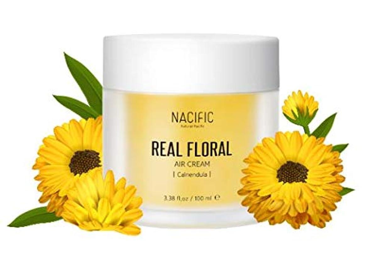 バルクリハーサル乳製品[Nacific] Real Floral Air Cream 100ml (Calendula) /[ナフィック] リアル カレンデュラ エア クリーム 100ml [並行輸入品]