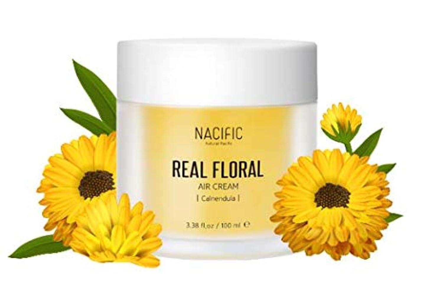 最終安全性クモ[Nacific] Real Floral Air Cream 100ml (Calendula) /[ナフィック] リアル カレンデュラ エア クリーム 100ml [並行輸入品]