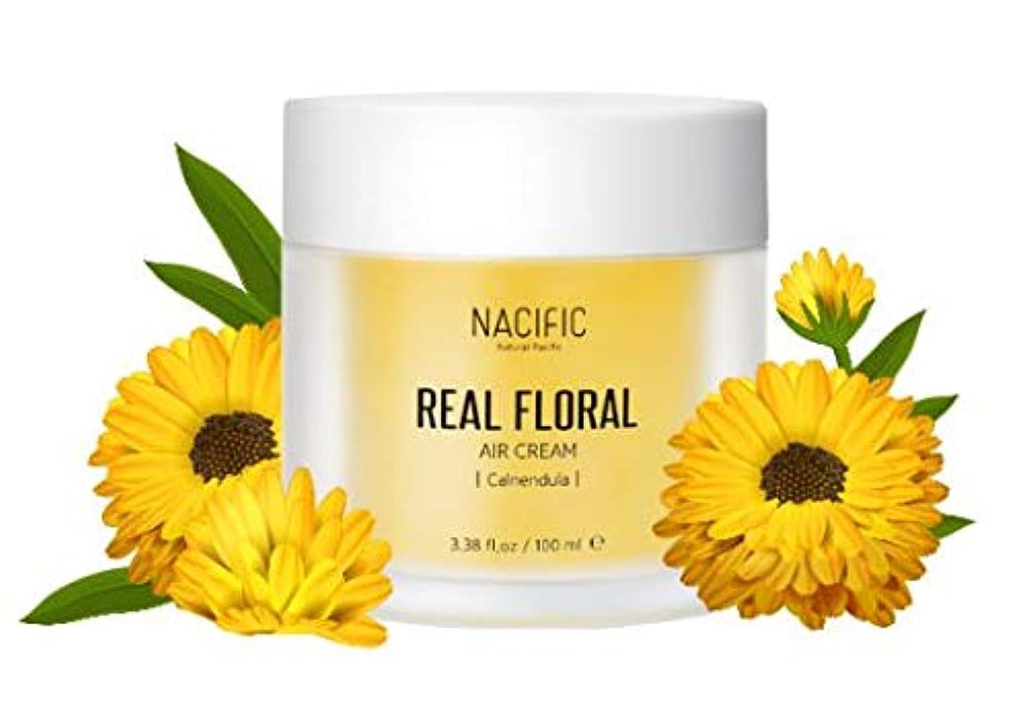 鉛民族主義代表団[Nacific] Real Floral Air Cream 100ml (Calendula) /[ナフィック] リアル カレンデュラ エア クリーム 100ml [並行輸入品]