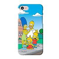 〈Galaxy Note9・ギャラクシー ノート9〉 ザ・シンプソンズ カートーン スリム ハード ケース The Simpsons Cartoon Slim Hard Case スマホ 携帯 スマートフォン ケース ソフト カップル 強い ハード 薄い フィット 友達 おそろい 柔らかい ソフト アニメー 人気 可愛い スリム カバー 〔カラー①・Color①〕