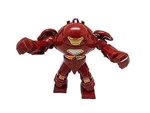 Building Toy Minifigure Hulkbusters 7 cm Iron Man Super Hero Marvel Mini figure ハルクバスター 箱痛み [並行輸入品]