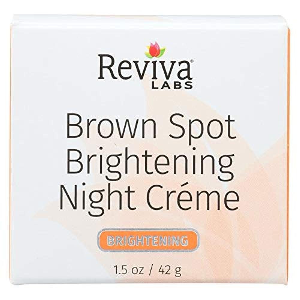 机規範フレット[海外直送品]  ブラウン スポット ナイトクリーム 42g  ハイドロキノン2%配合