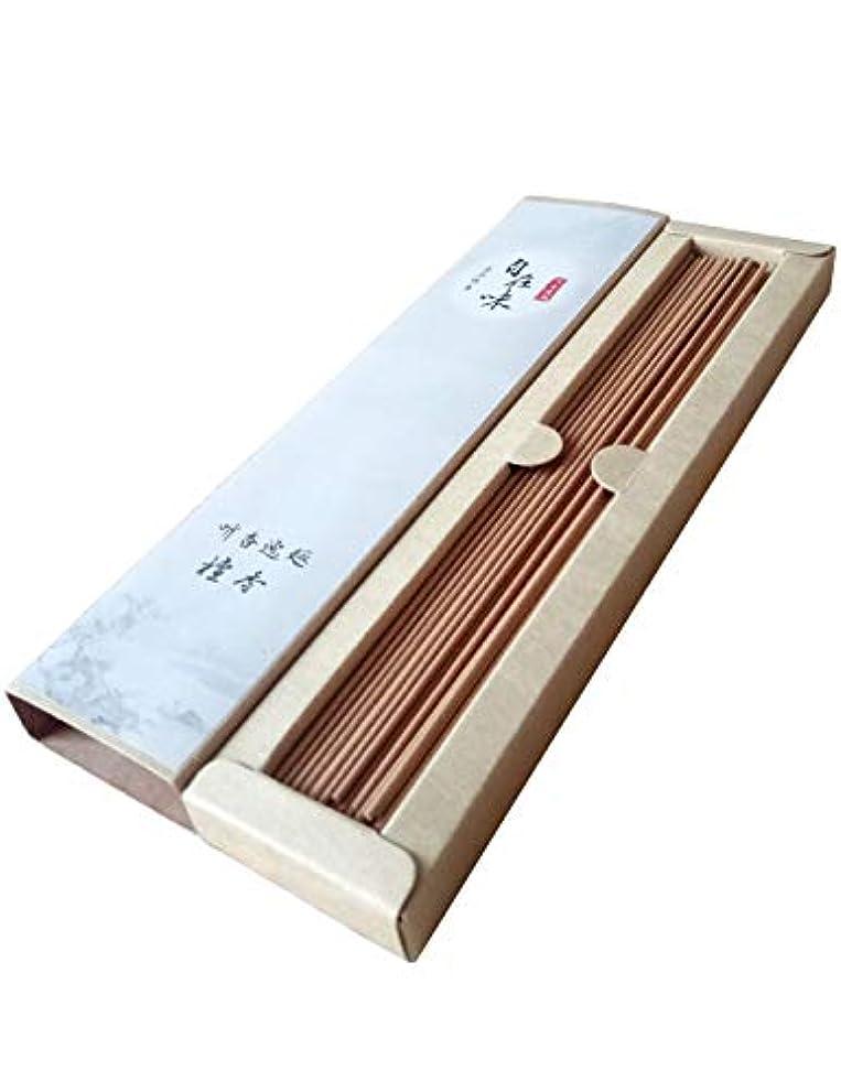 確実角度地震お線香 天然素材 煙の少ない 白檀 お徳用 (长寸21cm 85本入)