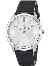 [カルバンクライン]CALVIN KLEIN 腕時計 Minimal(ミニマル) レザーウォッチ ジェント K3M211C6 メンズ 【正規輸入品】