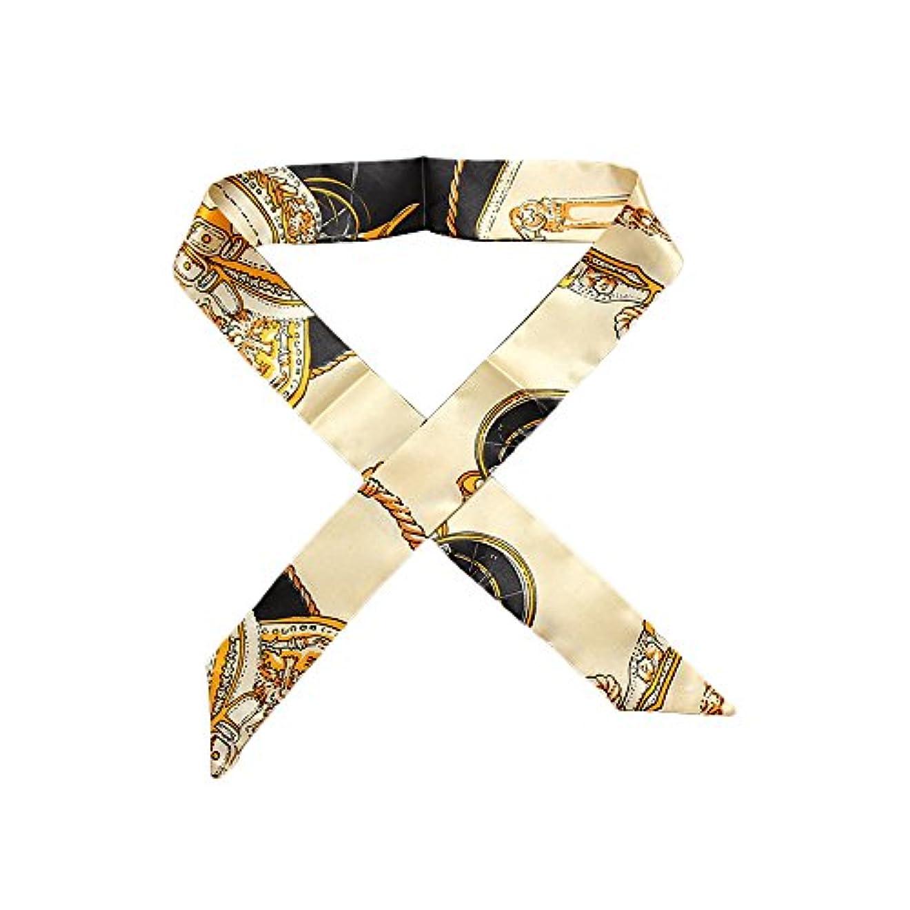 最初はシンボルこだわりSAISAI (サイサイ) スカーフ レディース バッグ用 ペイズリー柄 ツイリースカーフ SC-0001 (B-2)