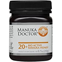 Manuka Doctor マヌカハニー バイオアクティブ 20+ (MGO400+ UMF20+) 250g 高活性 高殺菌 マヌカドクター Bio Active Manuka Honey はちみつ 【並行輸入品】