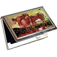 Cows後Jordaens by Vincent Van Goghビジネスカードホルダー