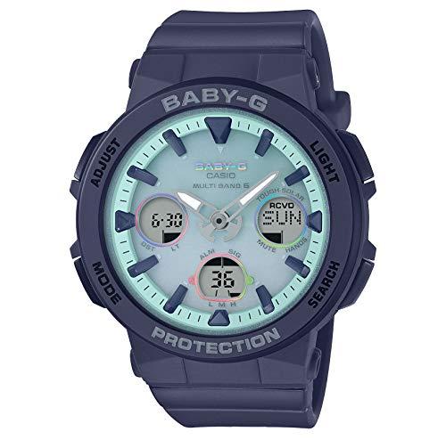 [カシオ] 腕時計 ベビージー BEACH TRAVELER 電波ソーラー BGA-2500-2A2JF レディース ブルー