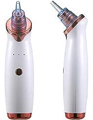 ブラックヘッドリムーバー真空ポアクリーナー、電気USB充電式スキンディープクレンザーフェイシャルマッサージャー、美容器具