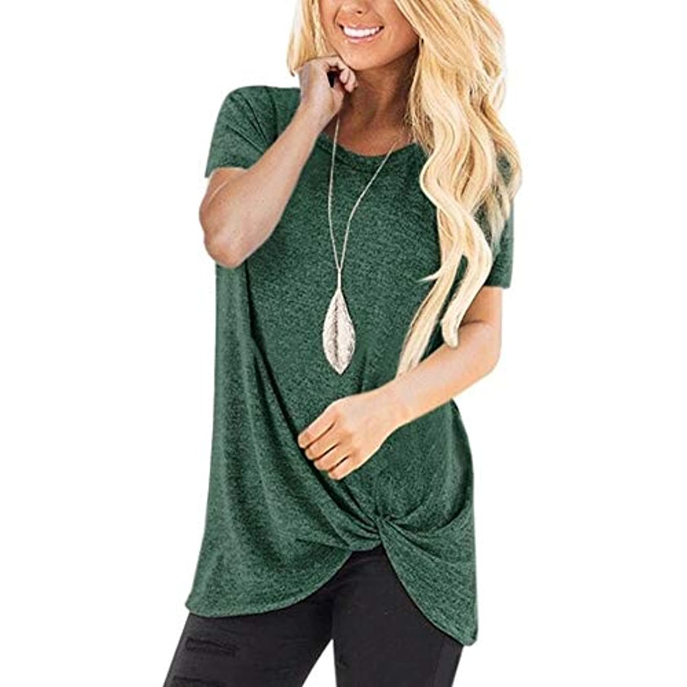 チーフ所得集団MIFAN コットンTシャツ、カジュアルTシャツ、レディースブラウス、トップス&Tシャツ、プラスサイズ、ルーズtシャツ