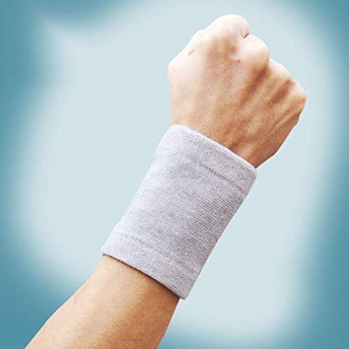 肥料モールス信号確執2個の耐摩耗性のある作業製造保護スポーツ手首スリーブ手袋-innovationo
