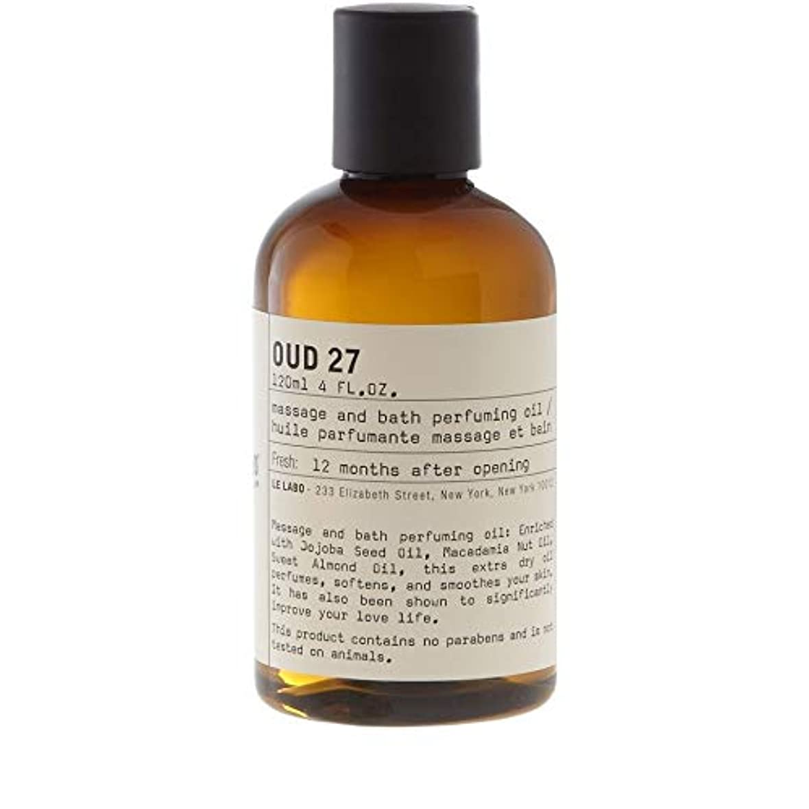 糸品種理容室[Le Labo ] ルラボウード27ボディオイル118ミリリットル - Le Labo Oud 27 Body Oil 118ml [並行輸入品]