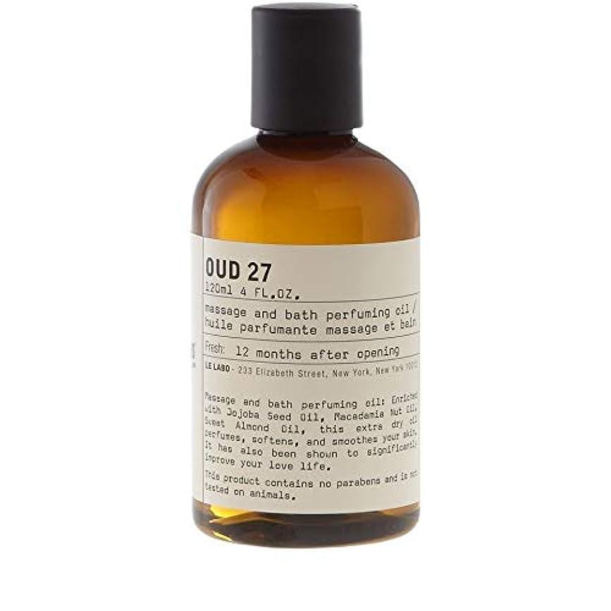 [Le Labo ] ルラボウード27ボディオイル118ミリリットル - Le Labo Oud 27 Body Oil 118ml [並行輸入品]