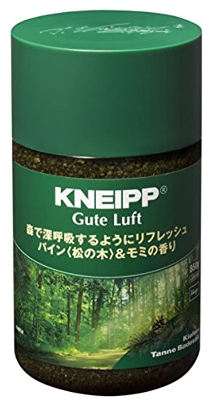 バレエ適性制裁クナイプ バスソルト グーテルフト パイン<松の木>&モミの香り 850g