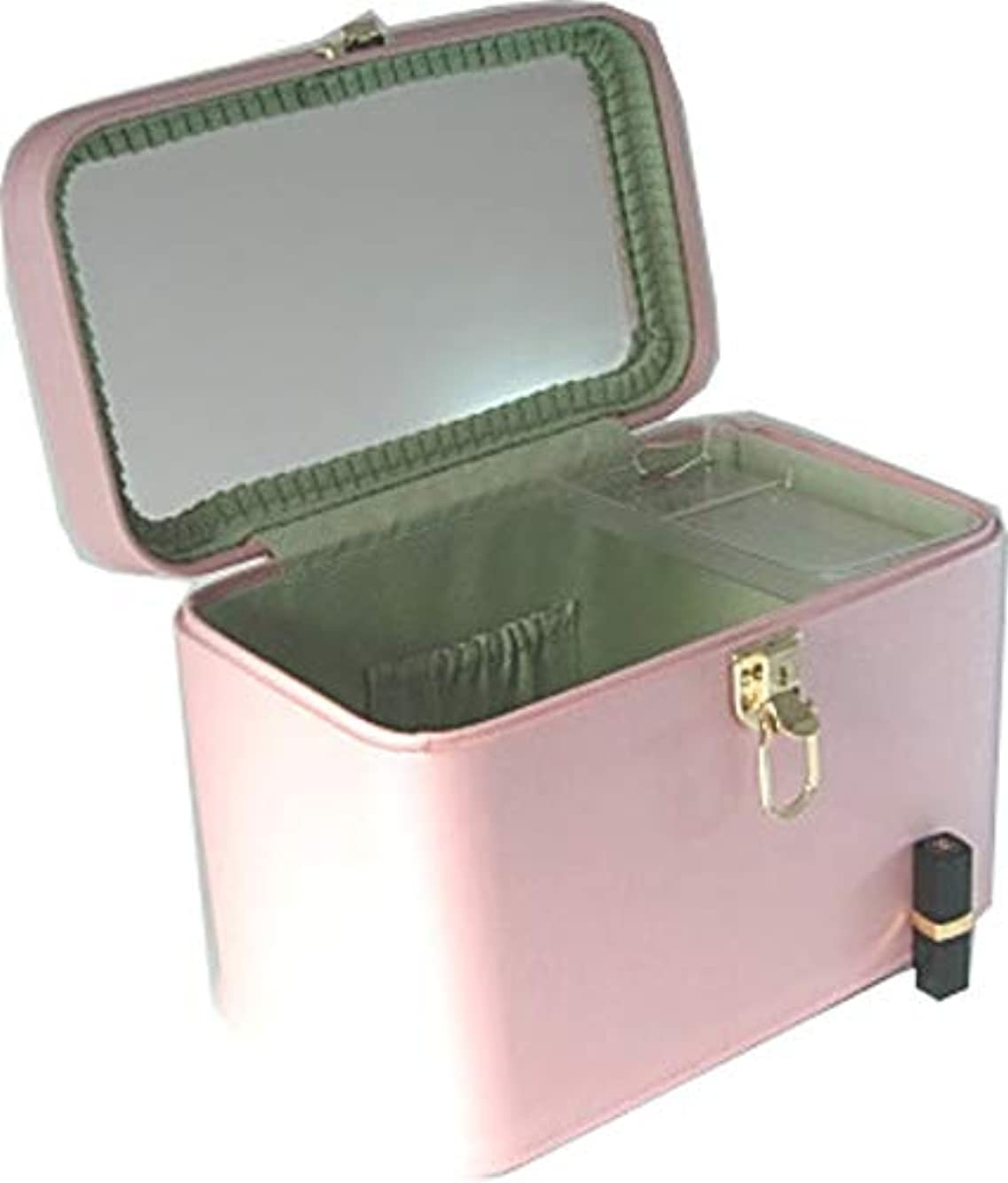 カスケード観客リードトリプルG2 33cmヨコ パールピンク 日本製 メイクボックス,コスメボックス,メイクアップボックス,トレンチケース,お化粧入れ,化粧雑貨,メーキャップボックス,化粧箱,かわいい,メイク道具箱,メイク雑貨,化粧ボックス