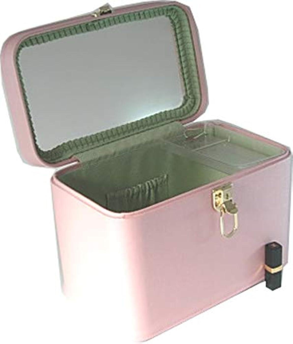 順番振り向く呼吸するトリプルG2 33cmヨコ パールピンク 日本製 メイクボックス,コスメボックス,メイクアップボックス,トレンチケース,お化粧入れ,化粧雑貨,メーキャップボックス,化粧箱,かわいい,メイク道具箱,メイク雑貨,化粧ボックス