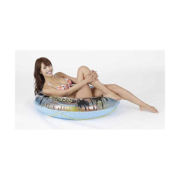 ドウシシャ 浮き輪 ヤシの木 110cmの紹介画像4