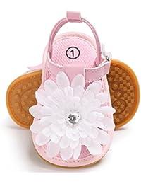 Sabe キッズ サンダルオールレザー 幼児新生児ベビーシューズ Prewalkerサンダル 女の子 男の子 歩行練習 子供靴