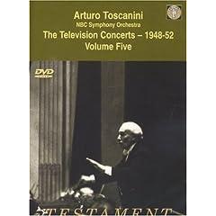 DVD Arturo Toscanini Television Concerts 1948-52 vol.5の商品写真