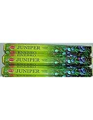 裾Juniper 60 Incense Sticks ( 3 x 20スティックパック)