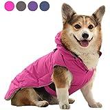 SENYEPETS Warm Coat with Cute Pocket (S, Pink)