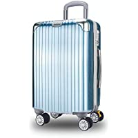 XY Trolley case - ABS+PC, TSA Customs Lock, with Extension Layer, Stylish Scratch-Resistant Brushed Hidden Hook Large Capacity Suitcase - 4 Colors, 2 Sizes Available Luggage Sets