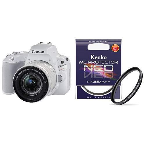 フィルターセットCanon デジタル一眼レフカメラ EOS Kiss X9 EF-S18-55 IS STM レンズキット(ホワイト) KISSX9WH1855F4ISSTML