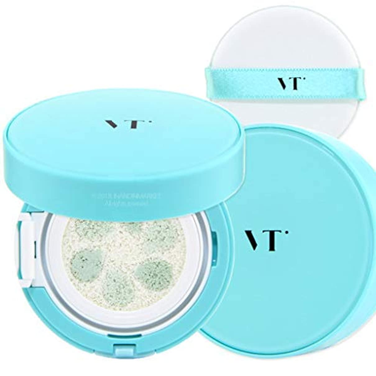 典型的なアヒルずるいVT Cosmetic Phyto Sun Cushion サンクッション 本品11g, SPF50+/PA++++