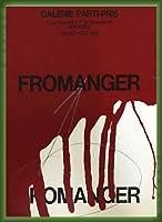 ポスター フロマンジャー Jullet aout 1966 額装品 ウッドベーシックフレーム(グリーン)