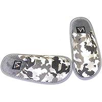 LA Gear Boys Camo Camouflage Slippers