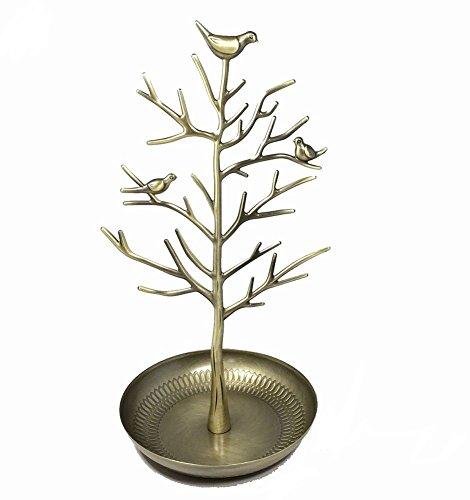 スマイルミント(smile mint) アクセサリーツリー かわいい小鳥 ジュエリースタンド