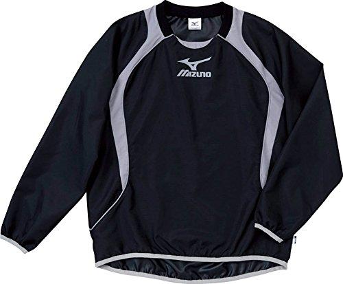 (ミズノ)MIZUNO フットボール ジュニア ウインドブレーカーシャツ 62WS275 09 ブラック×グレー 160