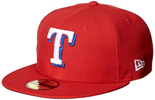 (ニューエラ)NEW ERA ベースボールウェア MLB ACPERF テキサス・レンジャーズ オルタネイトキャップ 17J 11449335 [ユニセックス] 11449335  チームカラー 7.5/8